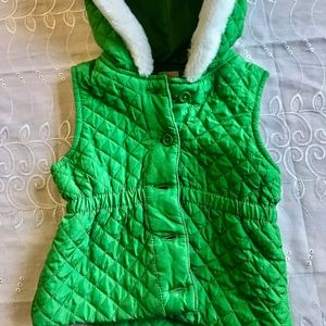 Quilted Toddler Girl Puffer vest